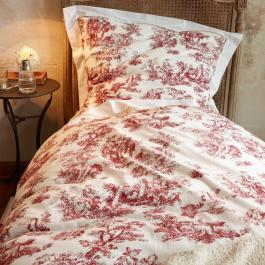 Beddengoed Toile rouge