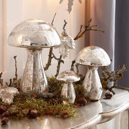 Decoratiepaddenstoel set van 3 Périgord
