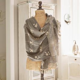 Sjaal Eloise bruin