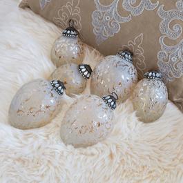 Kerstversiering set van 6 Laila