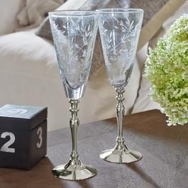 Champagneglazen set van 2 Coralie