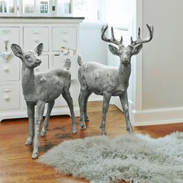 Hert en ree in een set Brother´s
