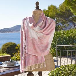 Sjaal Giverny