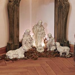 Kerststalfiguren set van 6 Pouponnière