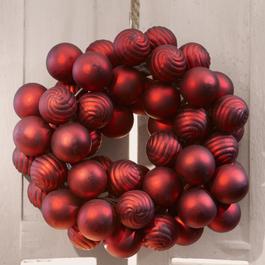Kerstballenkrans Frederic
