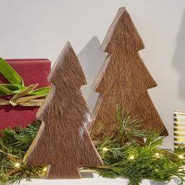 Decoratie boom set van 2 Rosnay