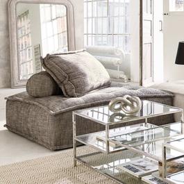 Loungebank Tesshill grijs
