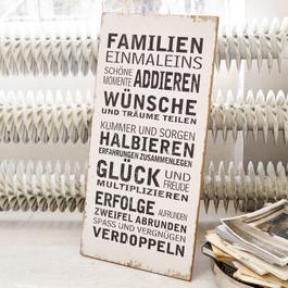 Decoratie board Einmaleins