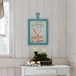 Decoratiebord Delicious