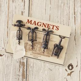 Magneet set van 4 Corkscrew