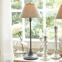 Tafellamp Swindon grijs/beige