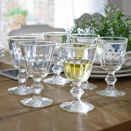 Wijnglas, set van 6 Arialie