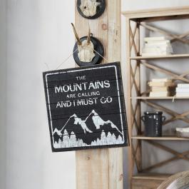 Decoratie board Mountain