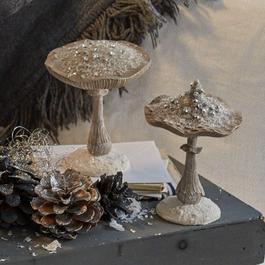 Decoratieve paddenstoelen, set van 2 Marsha