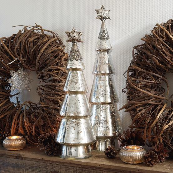 Decoratieboom set van 2 Thibaut