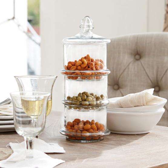 Glazen pot met 3 lagen Newport
