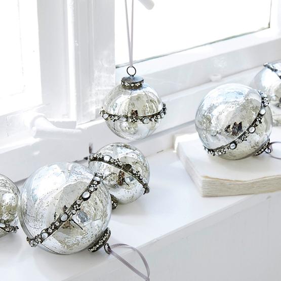 Kerstversiering set van 6 Cloé