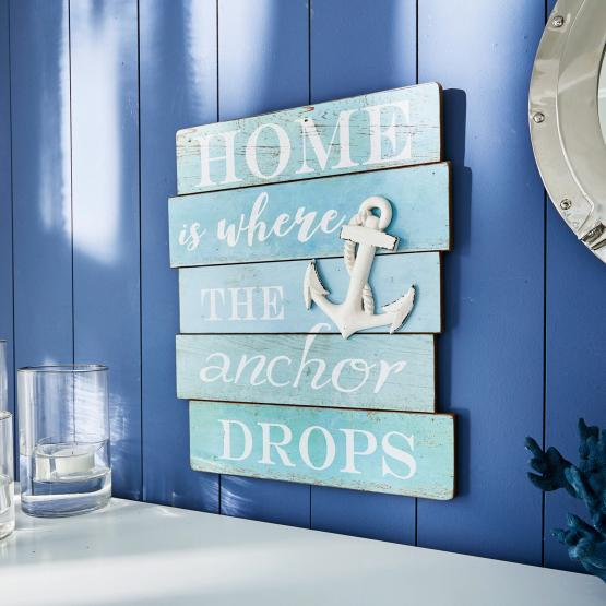 Decoratief board Drop