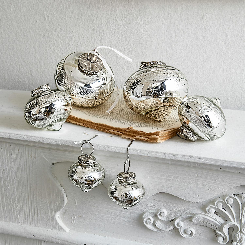 Kerstversiering set van 6 Sully