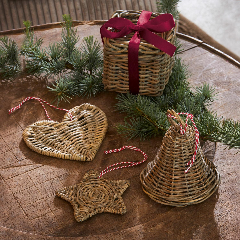 Kerstversiering set van 4 Almas