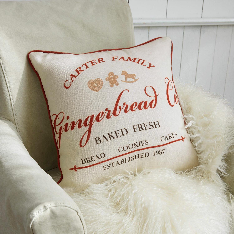 Kussenhoes Gingerbread