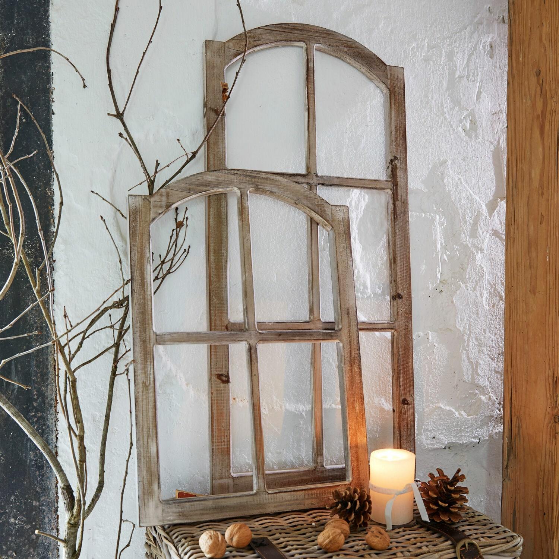 Decoratief venster set van 2 Parakou