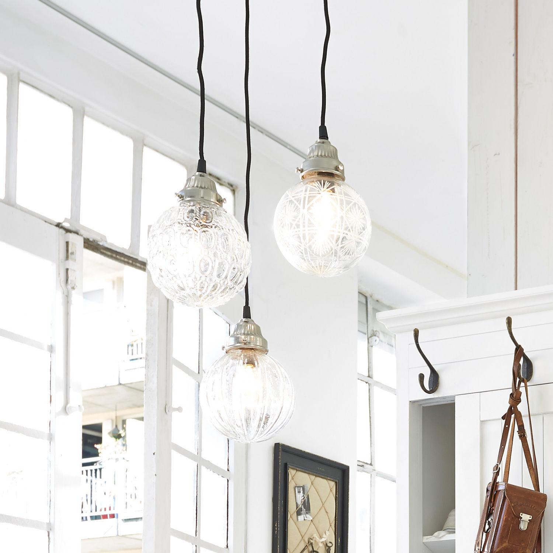 Hanglamp set van 3 Lidia