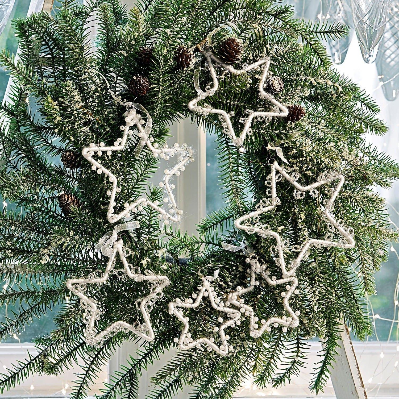 Kerstboomversiering set van 6 Bellevie