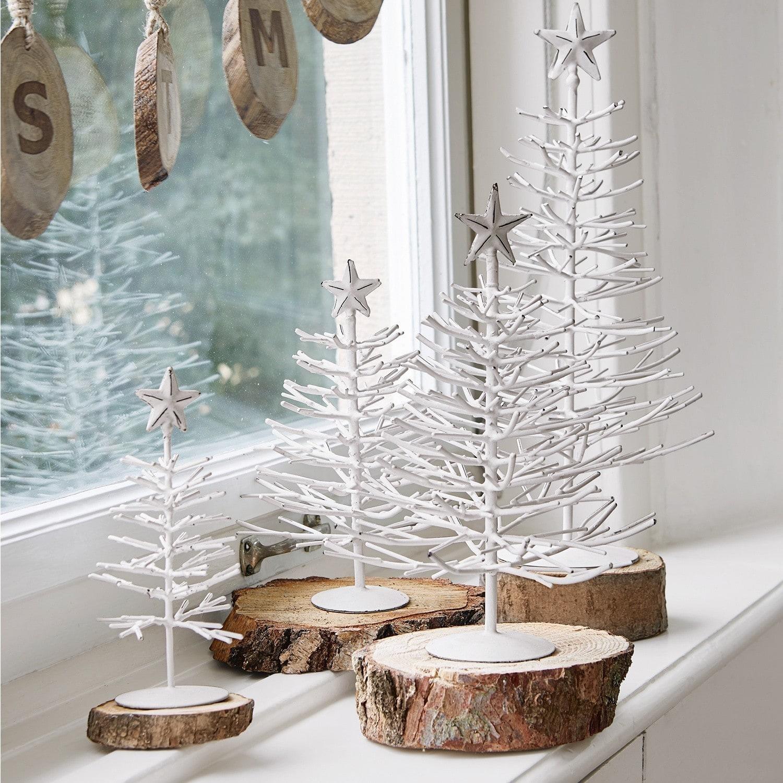 Decoratieboom set van 4 Frome LOBERON Kerstdecoratie ijzer