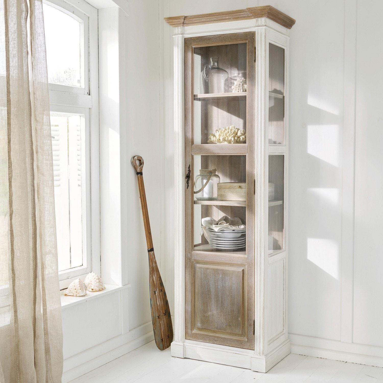Kast Coverton LOBERON Kasten & Rekken grenenhout, teak, mdf, glas