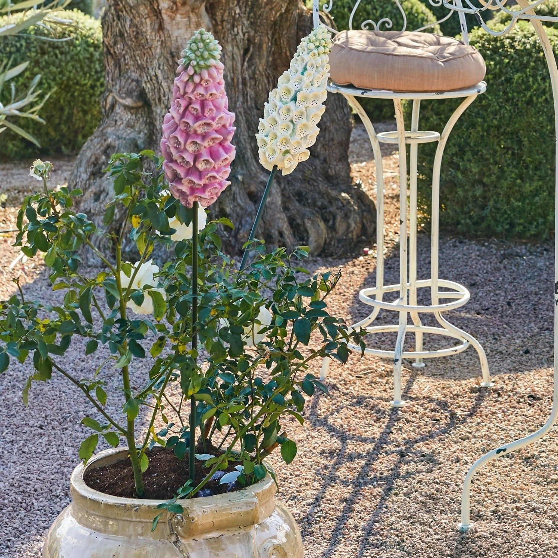 Kunstbloem set van 2 Lilacs