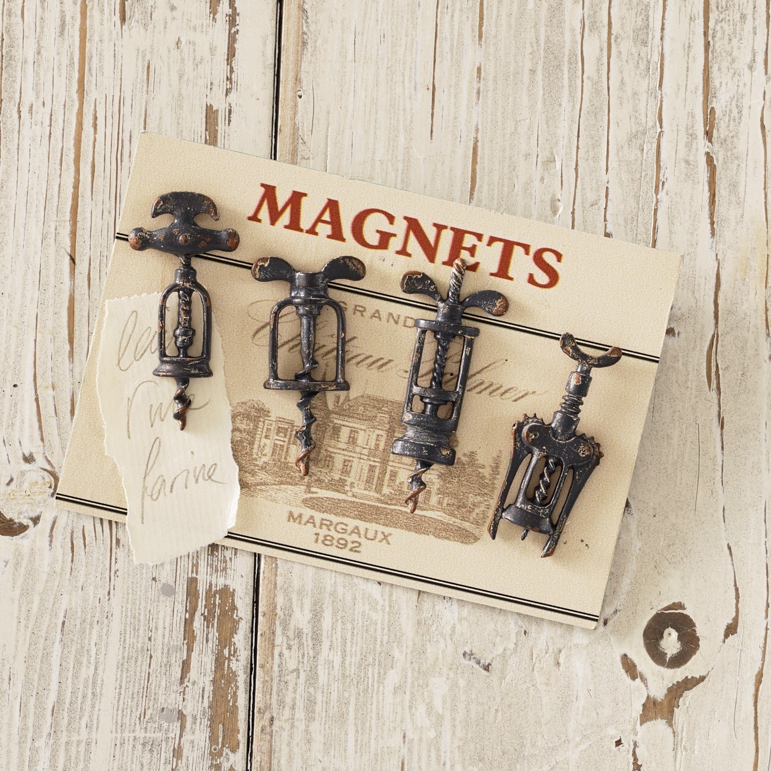 Magneet set van 4 Corkscrew