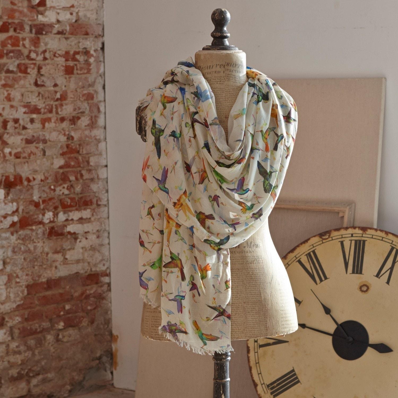 Sjaal Birds