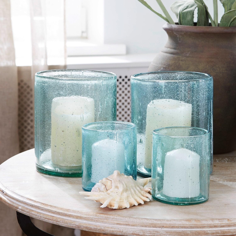 Windlichten set van 4 Bedelia LOBERON Windlichten & Meer glas