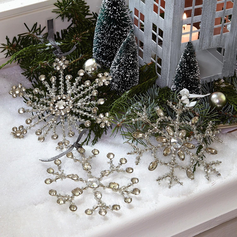 Kerstversiering set van 3 Gabriac