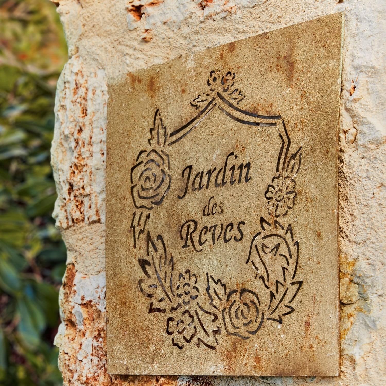Wandversiering Jardin des Reves