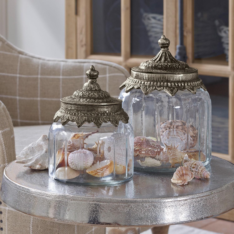 Glazen potten set van 2 Laf�line