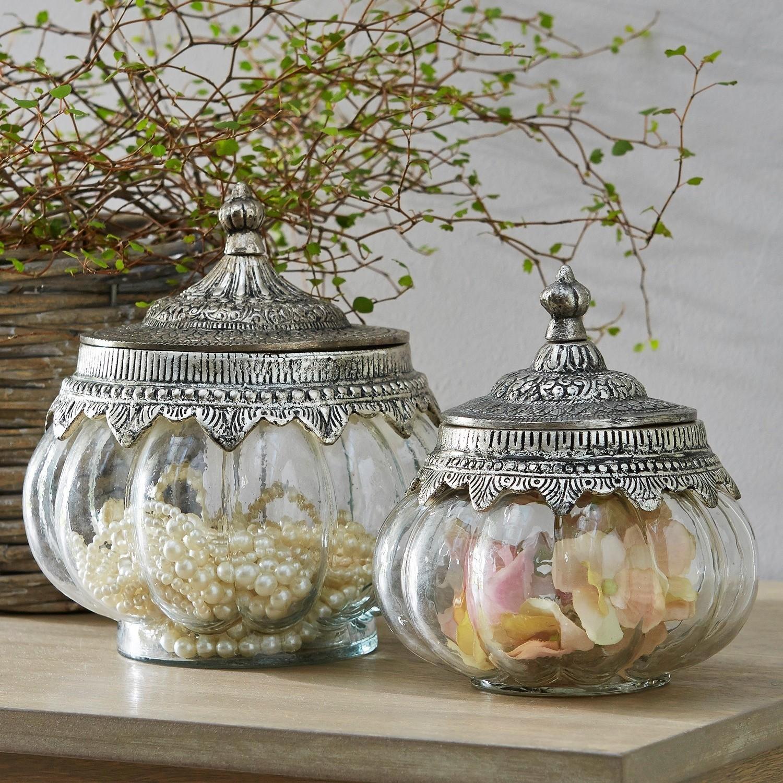 Glazen potten set van 2 Madelon