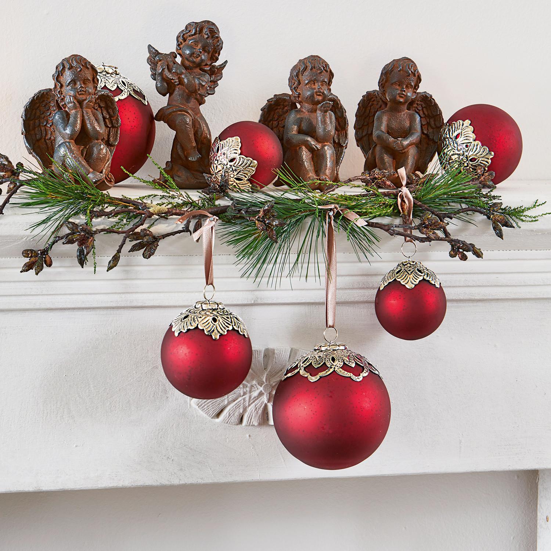 Kerstversiering set van 6 Valyn