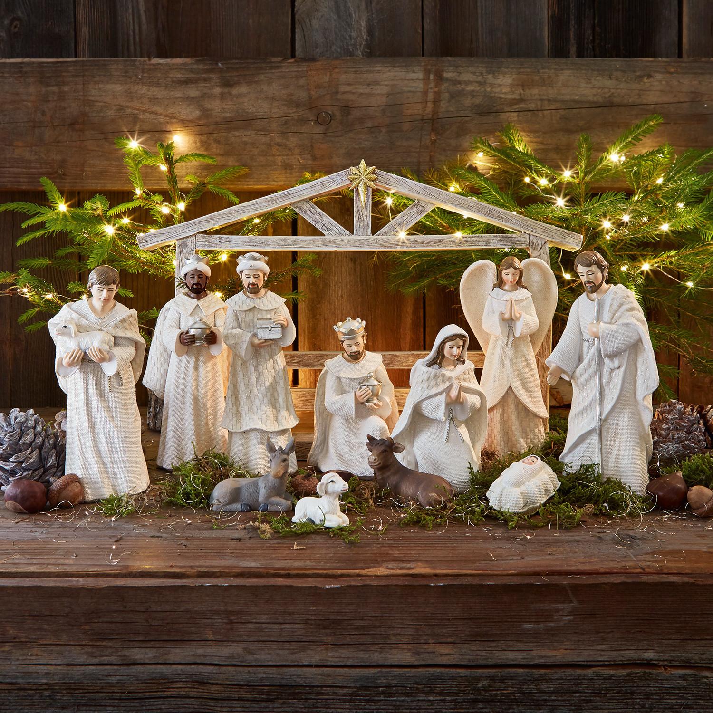 Kerststalfiguren set van 12 Santo