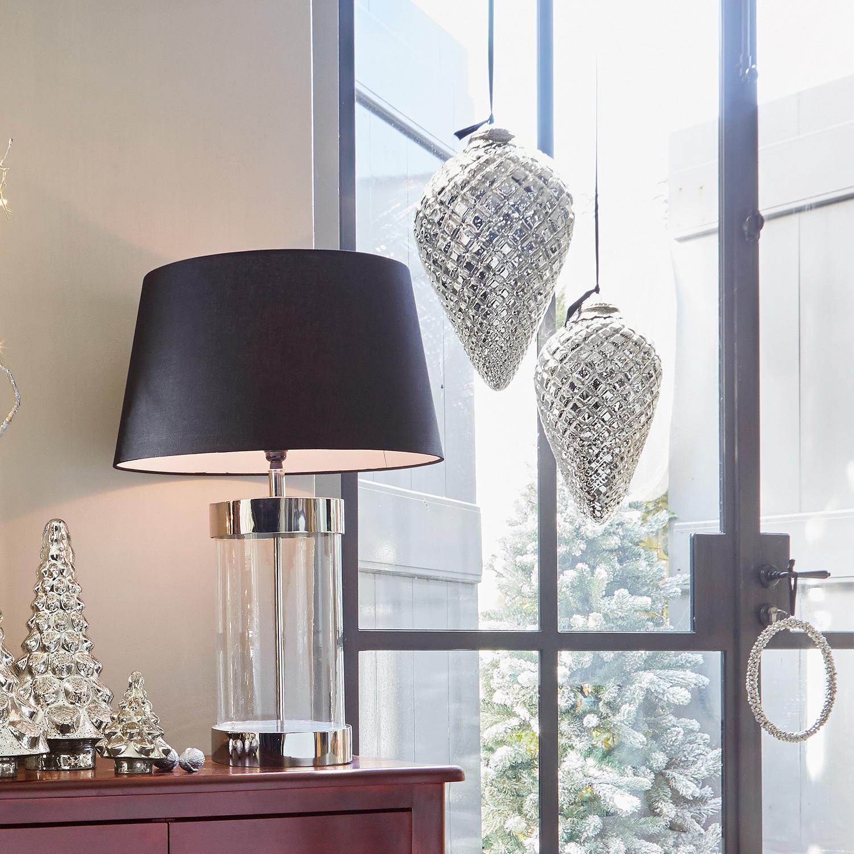 Kerstdecoratie set van 2 Vallée LOBERON Kerstdecoratie glas, Afdekking: ijzer