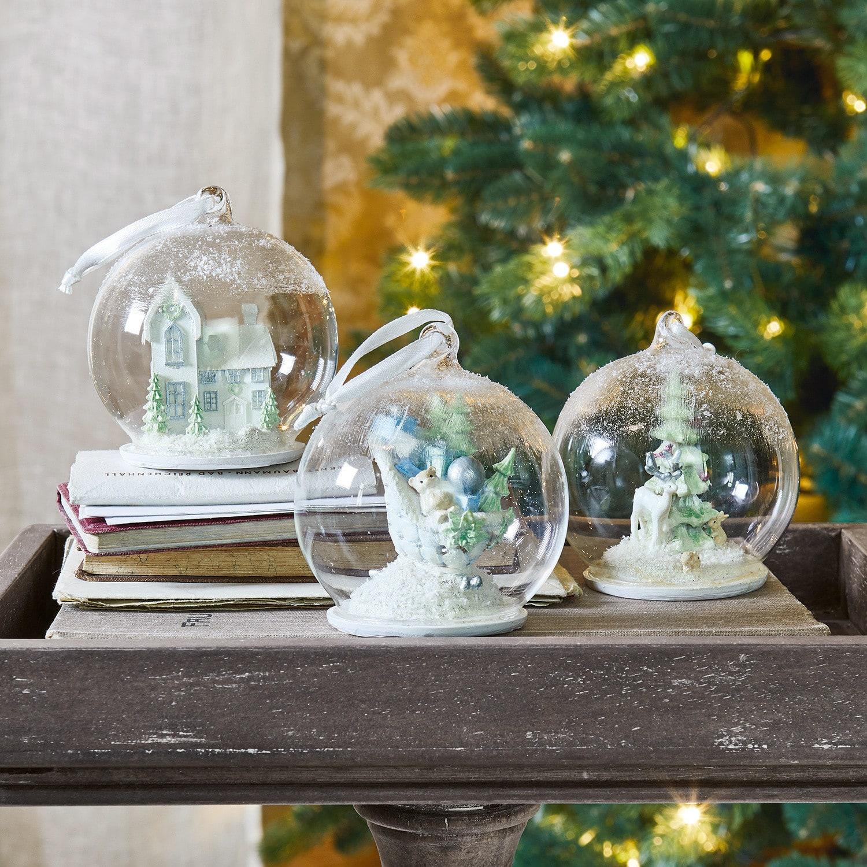 Kerstversiering set van 3 Winterland