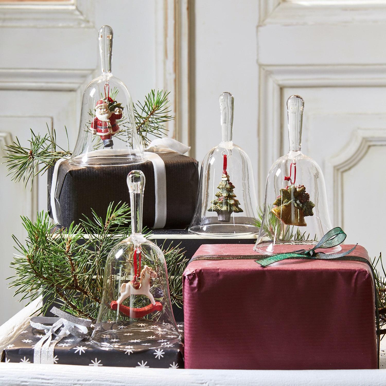 Kerstklokje, set van 4 Aribelle