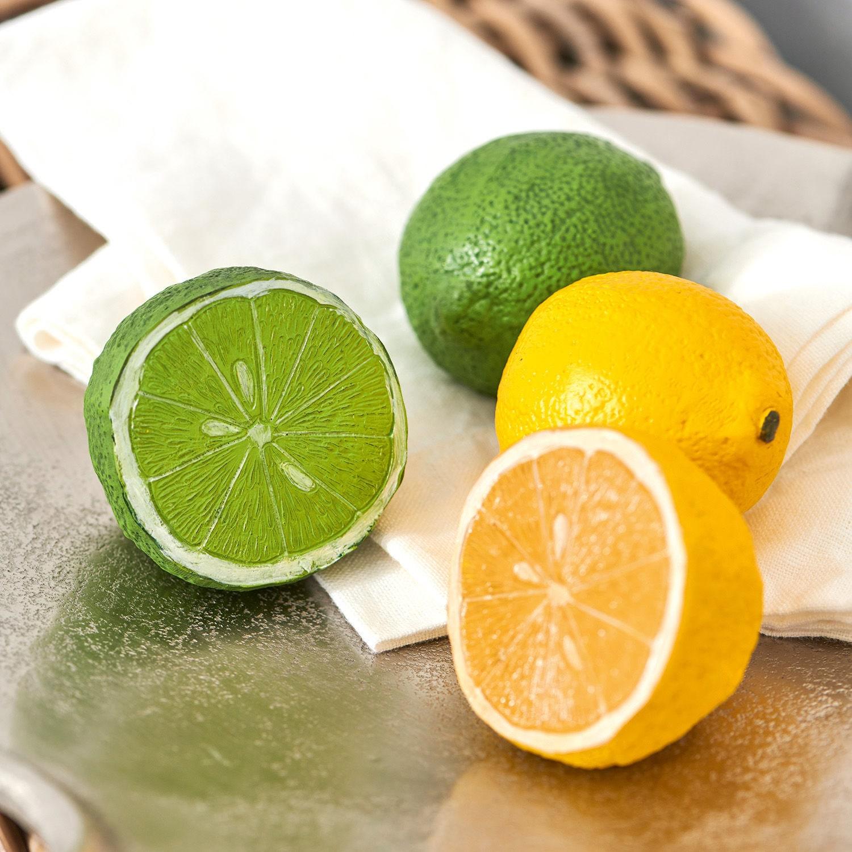 Decoratieve citrusvrucht, set van 4 Citrona