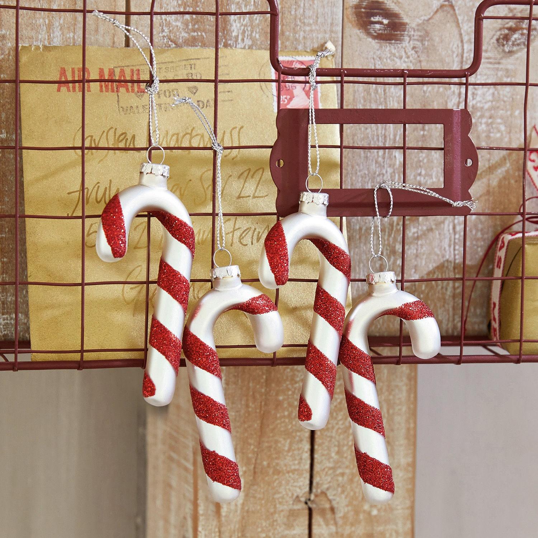 Kerstversiering set van 4 Asmara