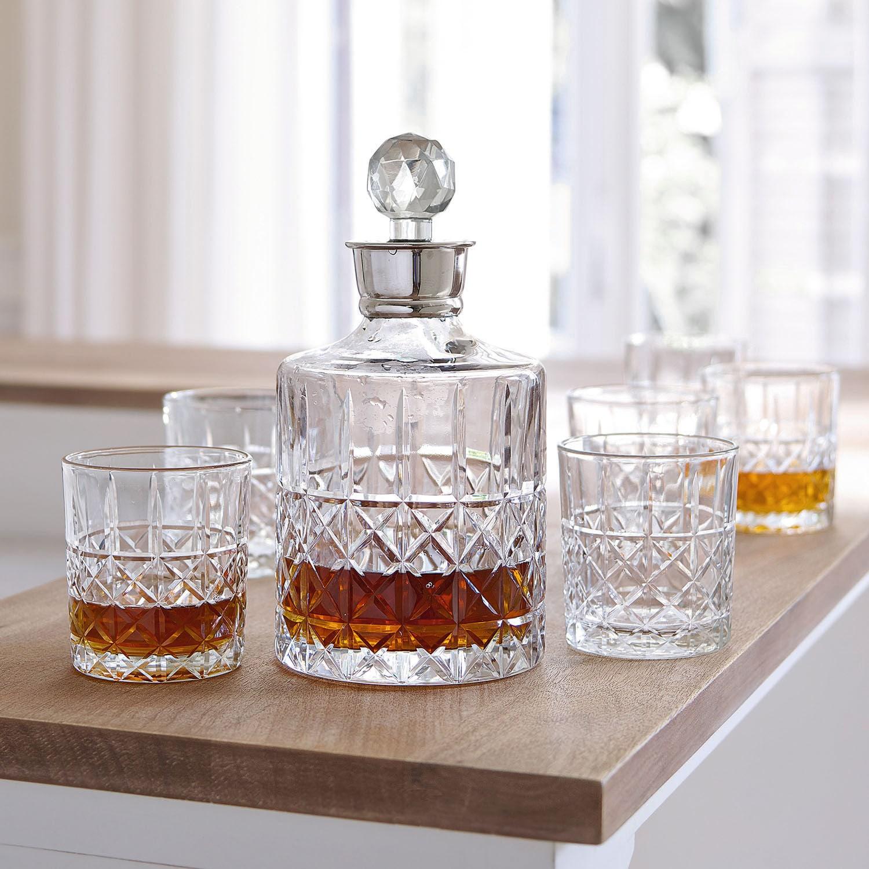 Whiskeyglas, set van 6