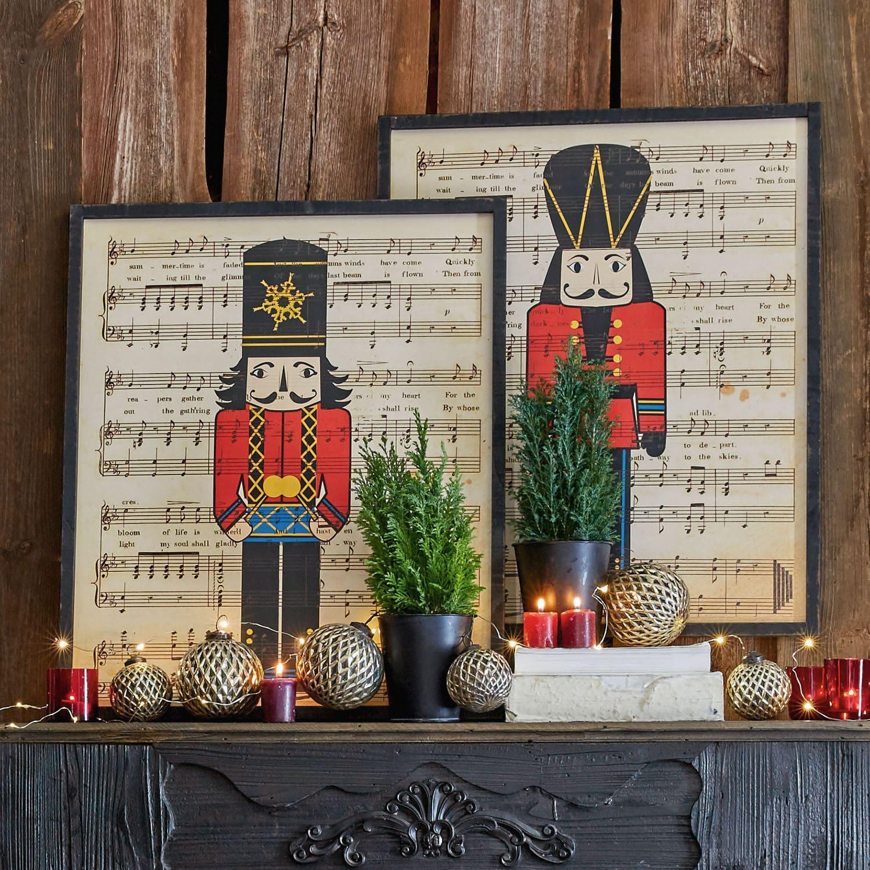 Decoratieboard, set van 2 Rieti