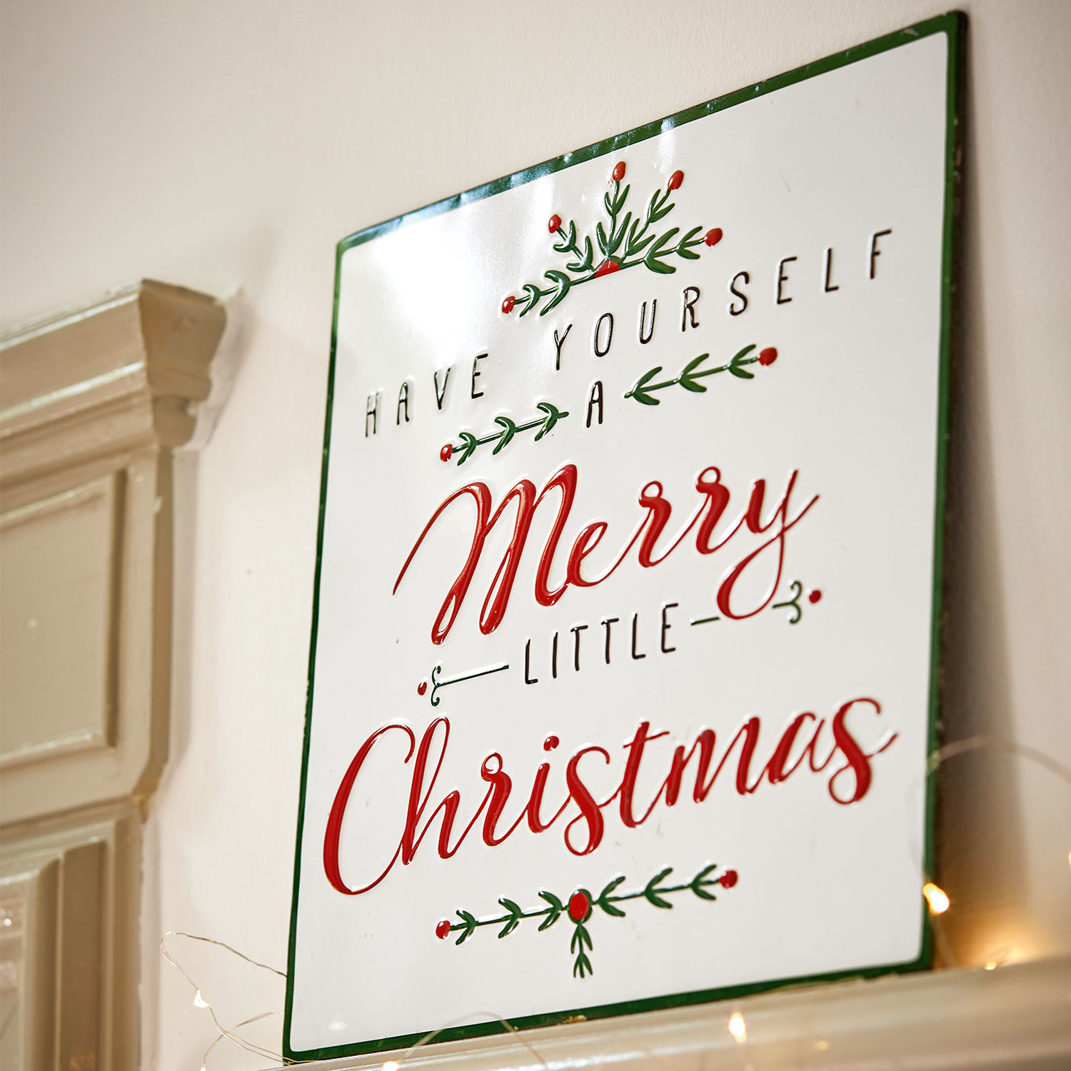 Decoratie schild Merry Merry