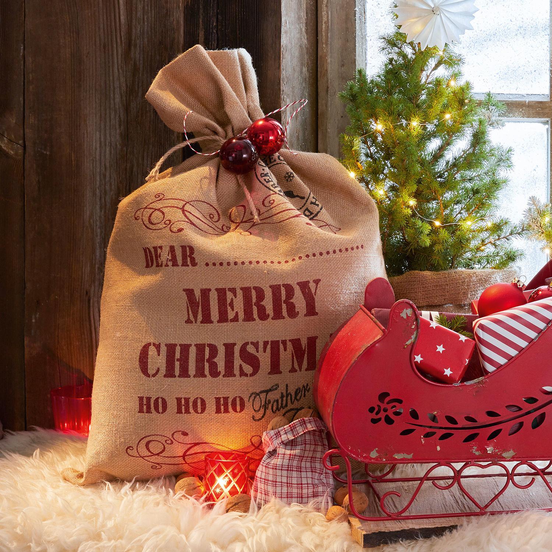 Cadeauzak Christmas