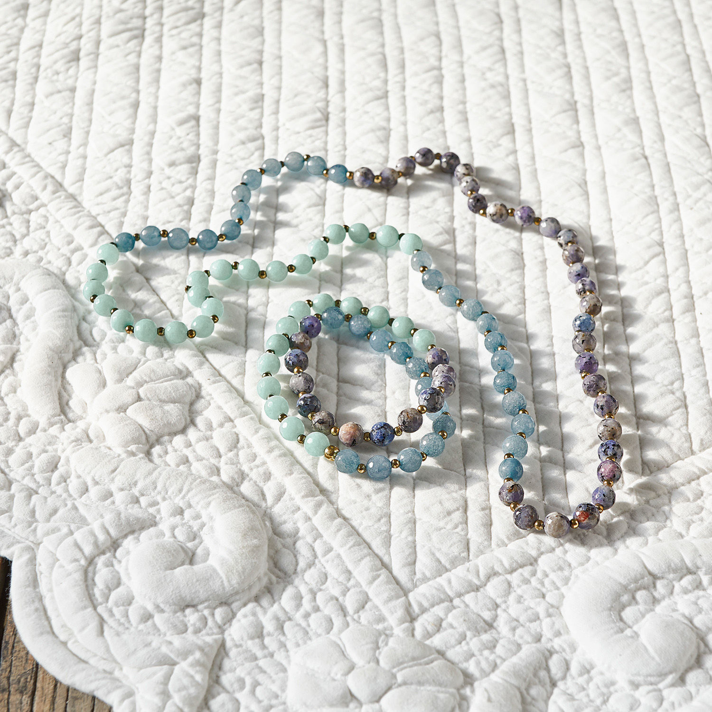 Armband en halsketting Cl�ves